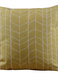 Clássico Amarelo Lump decorativa fronha