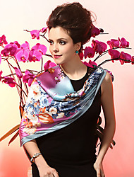 Shawls Silk As Picture Shown Party/Evening / Casual