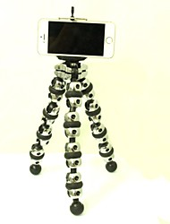GP123 Transformers Octopus Mount Tripod with Phone Clamp for Digital Camera / Cellphone