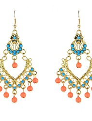 Beaded Chandlier Earrings