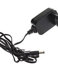 AC 100-240В адаптер питания Переключение 5.5mm/2.1mm 5В 2Amp 2000mA (черный, 1.2M)