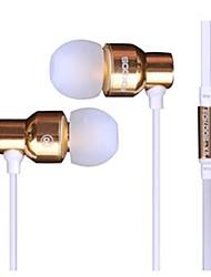FE-007 стерео наушники-вкладыши с микрофоном для iPhone / Samsung