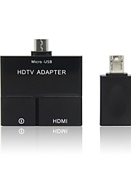 Micro USB 5pin & 11pin MHL to HDMI HDTV Adapter for Samsung Galaxy i9300 i9500 S4 N7100 S2 i9100 N7000 S5 i9600