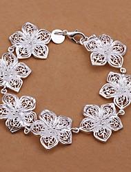 Meles All Match Sweet Flower Shape Bracelet
