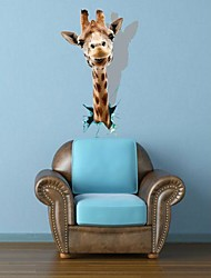 Decalcomanie 3D TheGiraffe Wall Stickers murali