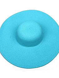 Women'S Costume Beach Sun Seaside Tourism Big Hat