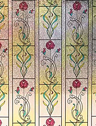 Euro Rétro aulique Floral Window Film