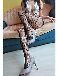 Patrón de malla Pantyhose de las mujeres