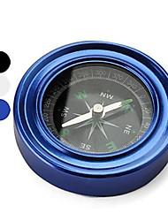 2,4 po en acier inoxydable boussole / compas