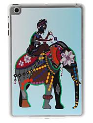 femme sur le cas de l'éléphant pour Mini iPad 3, iPad Mini 2, Mini iPad