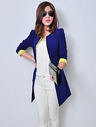 Luto neue koreanische Frauen Color Matching Slim Fit Anzug