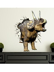 3D The Rhinoceros Wall Stickers Wall Decals