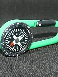 Открытый Портативный пластиковый карабин компас-ассорти цвет