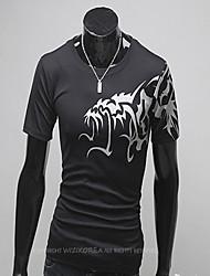 Men's Wolf Print T-Shirt