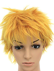 Capless Heat-resistant Blonde Costume Party Wig