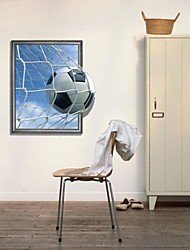 3D World Cup Football Wall Decals Wonderful Goal Wall Stickers