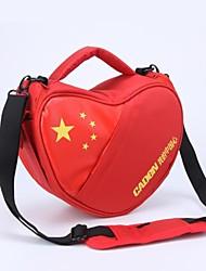 CADEN Universal China Heart Camera Bag for Canon Nikon D90 600D Sony SLR Camera