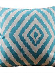 Классический Синий геометрический образ декоративным покрытием Подушка