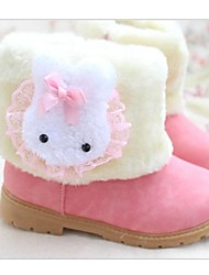 Mädchen Bunny Woll Snow Boots
