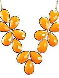 Bijoux collier de fleur d'oranger Bubble Déclaration Floral