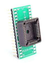 PLCC32-EP1M to DIP32 for MCU Seat and IC Testing Seat Module Adapter