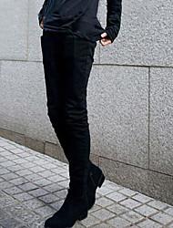 Pure Color Pantaloni skinny Uomo
