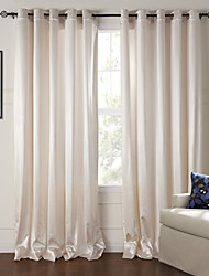 Two Panels Curtain Modern Living Room Polyester Material Curtains Drapes Home Decoration For Window