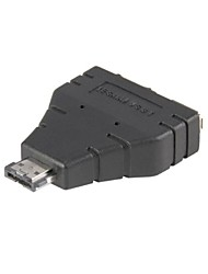 Combo eSATAp Power over eSATA USB 2.0 naar eSATA & USB Adapter splitter 1 in 2 nieuwe