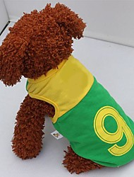 New World Cup Soccer Sports Cotton Vest  for Pet Dogs(Assorted Size)