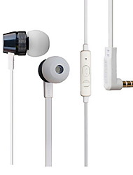 FE-PSP Stereo In-Ear Headphone with Mic for iPhone/Samsung