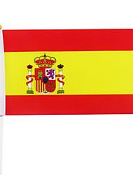 5PCS Spain Hand Signal National Flag Brazil World Cup Fans Cheer Prop(21x30cm)