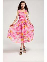 Женская Свежий платье с молнией