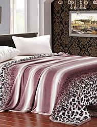 Джунгли Верблюд Leopard Очки Фланель одеяло