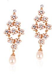 Beles Женская перлы год сбора винограда серьги стержня