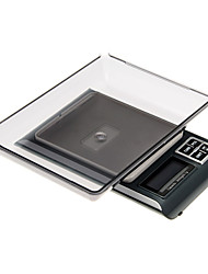 Высокая нагрузка точные цифровые весы (3 кг Макс / 0.1g разрешение)