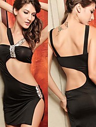 Women's Sexy Europe Hollow Out Sequin Club Evening Dress