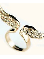 Shixin® Women's Wing-Shaped Rhinestone Ring