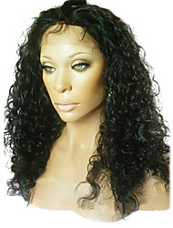14 Inch Twist Curly Remy Human Hair Full Lace Wig  Swiss Lace 130 Density More Color Available