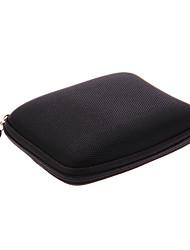"""Preto durável Caso protetor de útil para GPS 5 """"Nylon"""