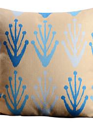 Artística abstracta moderna vida va en los árboles decorativos almohada cubierta