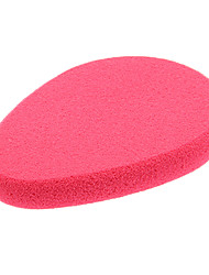 Egg Shaped Rose Color Nature Sponges Powder Puff for Face