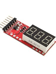 New RC Voltage Lipo Battery Meter Indicator 2-6 Cells LED