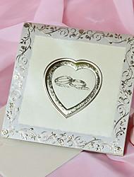 """Unpersonalisierte Oberseite gefaltet Hochzeits-Einladungen Einladungskarten-50 Stück / Set Klassicher Stil Perlenpapier 6""""×6"""" (15*15cm)"""