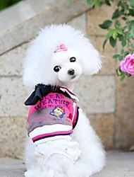 Schöne Sommer-Haustier-Kragen-Hemd Herr-Riegel für Haustiere Hunde (versch. Farben, Größen)