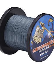 500MLow отношению Серый 30lb 0.25mm 13.7kg 4 Перевозчики 100% ПЭ Spectra волокна Dyneema плетеная леска