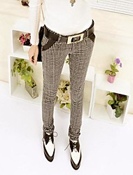 Women's Joker Plover Case Pencil Pants