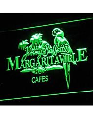 Jimmy Buffett neon Margaritaville sinal de luz