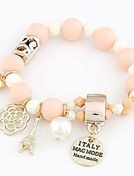 Korean Fashion Ladies Wild Beads Pendant Bracelet