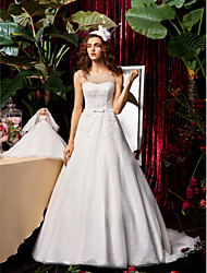 Lanting Bride® A-line / Princess Apple / Inverted Triangle / Rectangle / Misses / Hourglass / Pear / Petite Wedding Dress