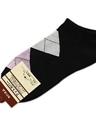 Lattice Pattern coton femmes Chaussettes de sport (couleurs assorties, One-Size EUR36-39)